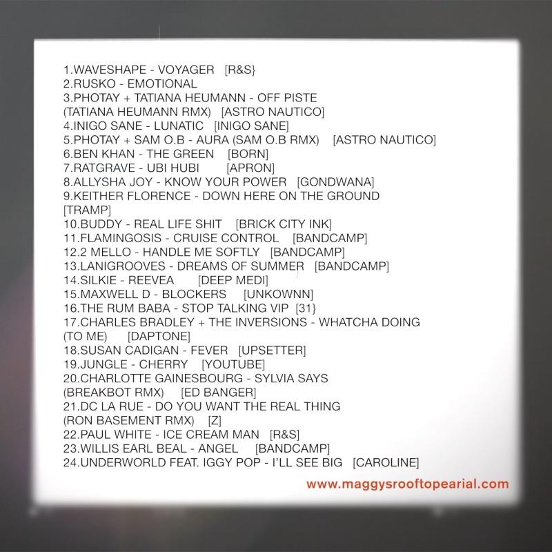 tracklist aug 11