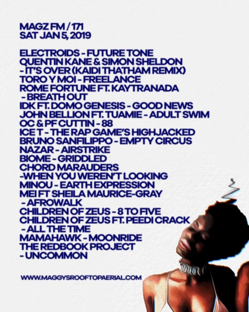 tracklist revised